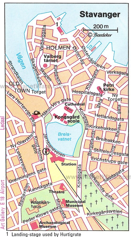 14 TopRated Tourist Attractions in Stavanger – Norway Tourist Attractions Map
