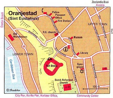 Oranjestad map | Now Shop Time Oranjestad Map