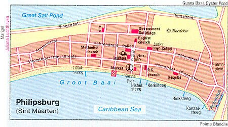 Philipsburg Sint Maarten Netherlands Antilles Cruise Port of Call