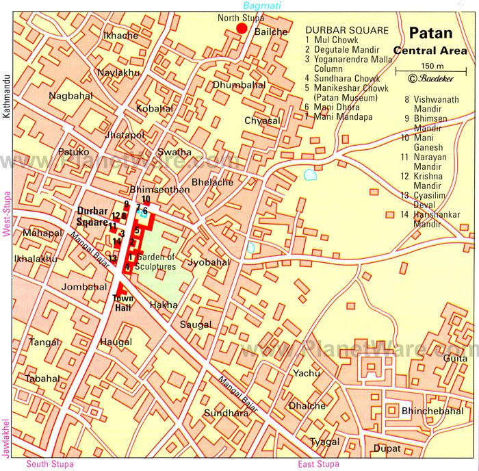 Pompeii Map Attractions Some Attractions Within Map of