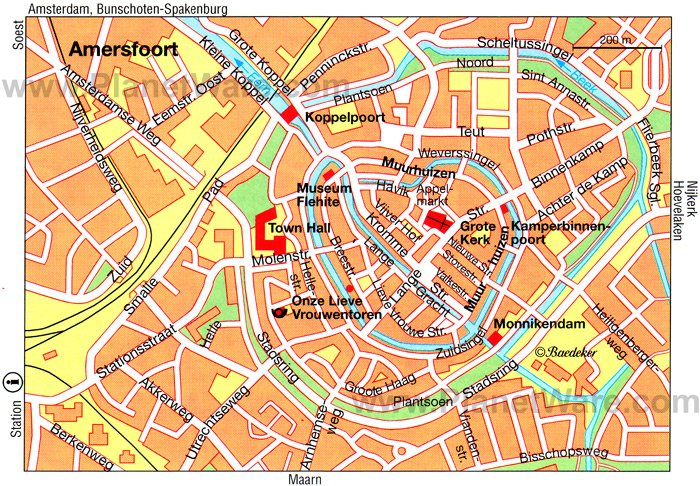 Amersfoort Map - Tourist Attractions