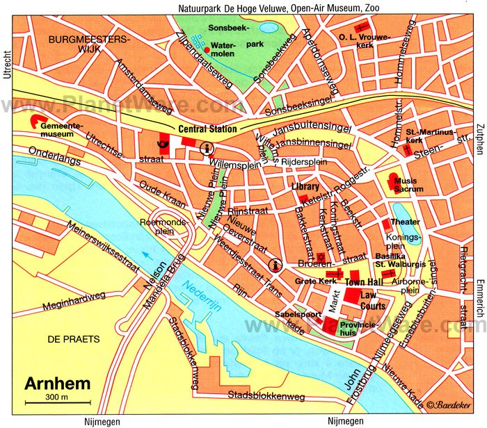 10 Top Tourist Attractions in Arnhem and Easy Day Trips – The Hague Tourist Map