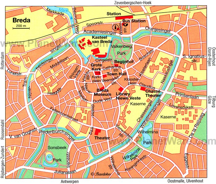 10 TopRated Tourist Attractions in Breda – The Hague Tourist Map