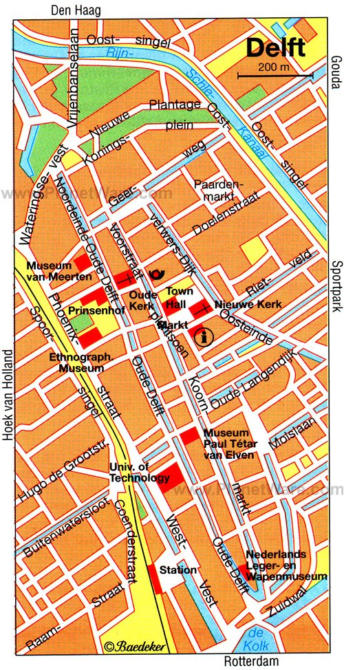 10 TopRated Tourist Attractions in Delft – The Hague Tourist Map