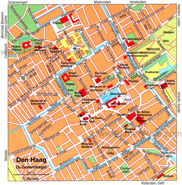 {12 Top Tourist Attractions in The Hague and Easy Day Trips – The Hague Tourist Map