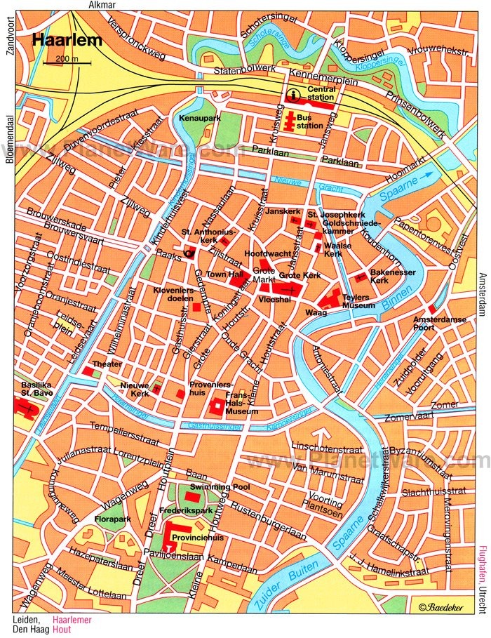 10 TopRated Tourist Attractions in Haarlem – Tourist Attractions Map In Amsterdam