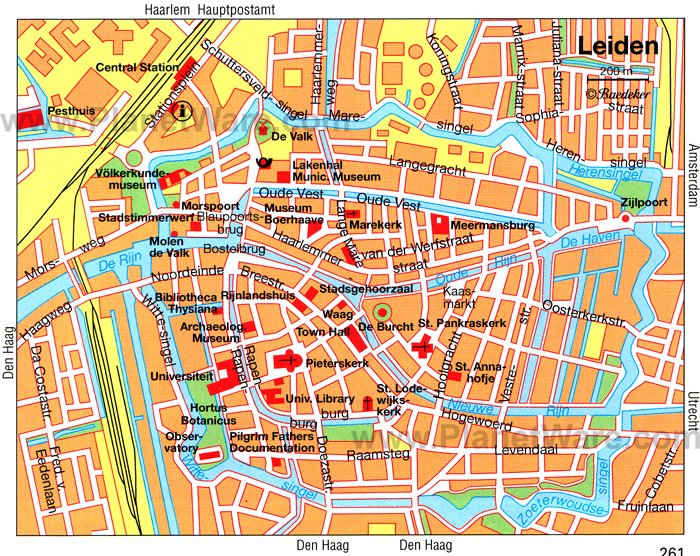 10 TopRated Tourist Attractions in Leiden – Amsterdam City Centre Map Tourist