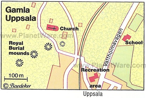 TopRated Tourist Attractions In Uppsala PlanetWare - Sweden map uppsala