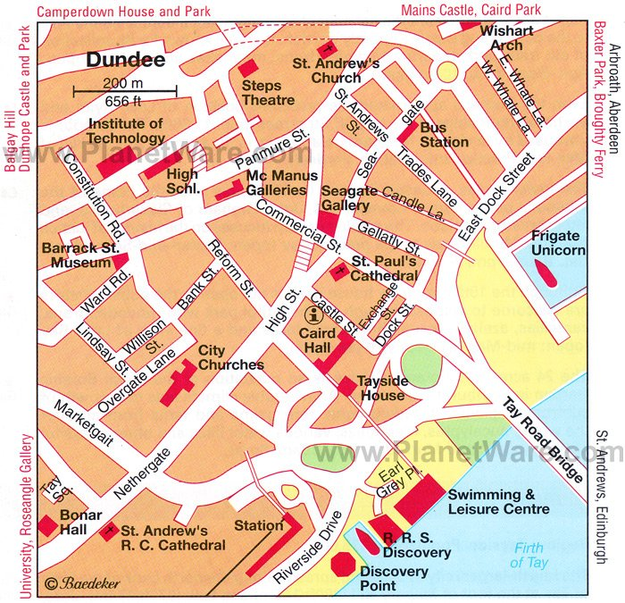 TopRated Tourist Attractions In Dundee and Nearby Day Trips – Tourist Map Glasgow
