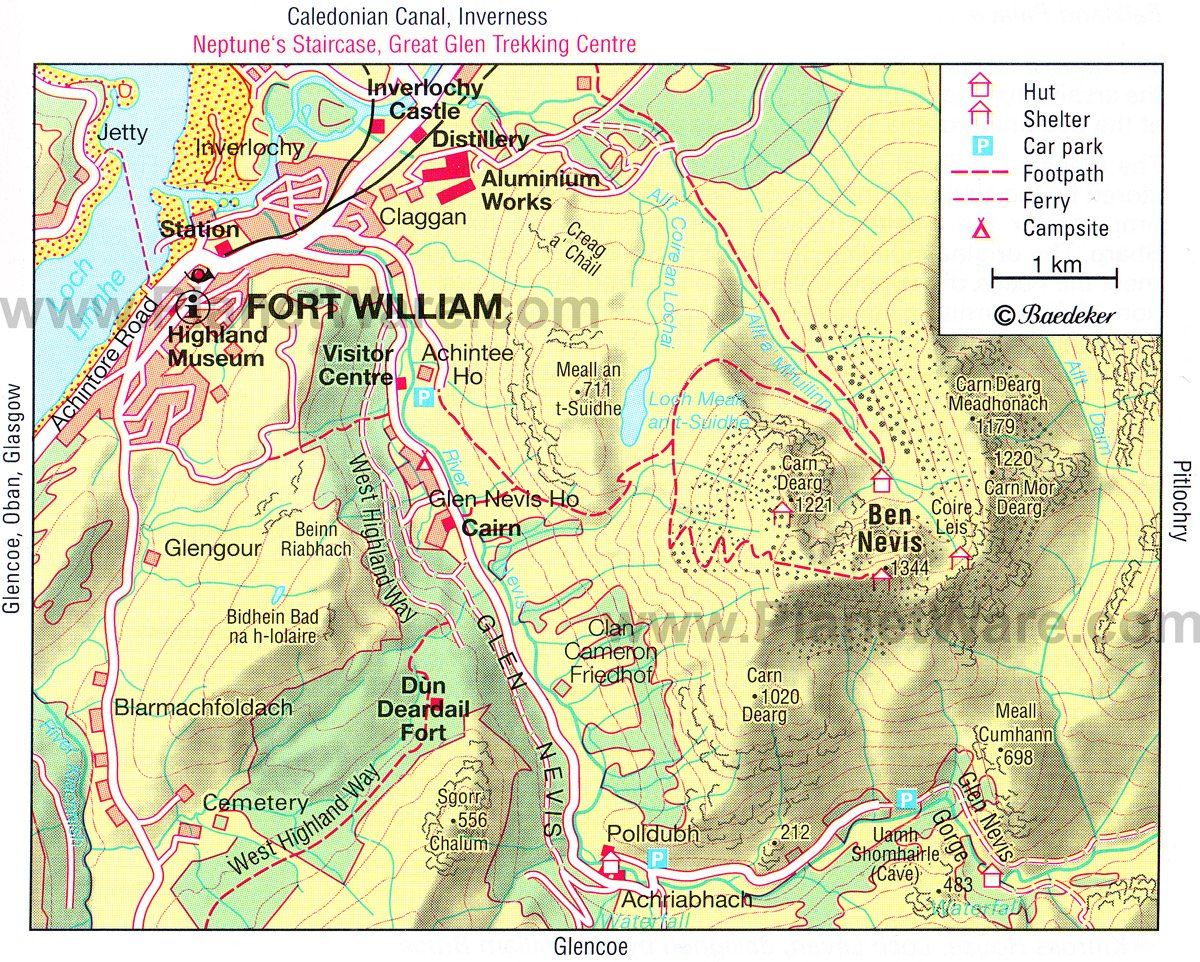 10 TopRated Attractions in Oban Fort William and the – Tourist Map Glasgow
