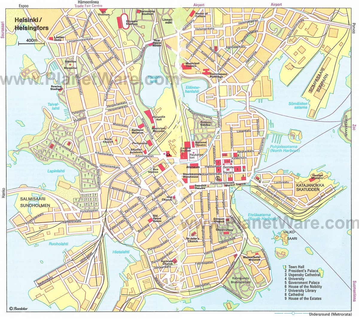 14 TopRated Tourist Attractions in Helsinki and Interesting Day – Tourist Attractions Map In Bay Area