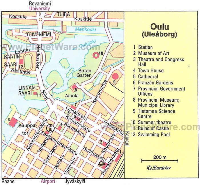 Top-Rated Tourist City Maps Turku Cities İn Finland