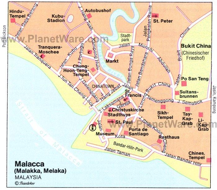 Malacca Malaysia Cruise Port of Call