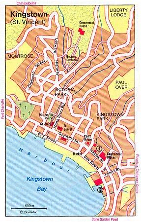 Kingstown Map | Maps