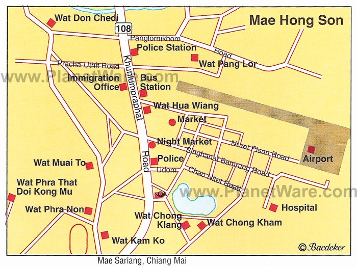 10 TopRated Tourist Attractions in Mae Hong Son and the – Thailand Tourist Attractions Map