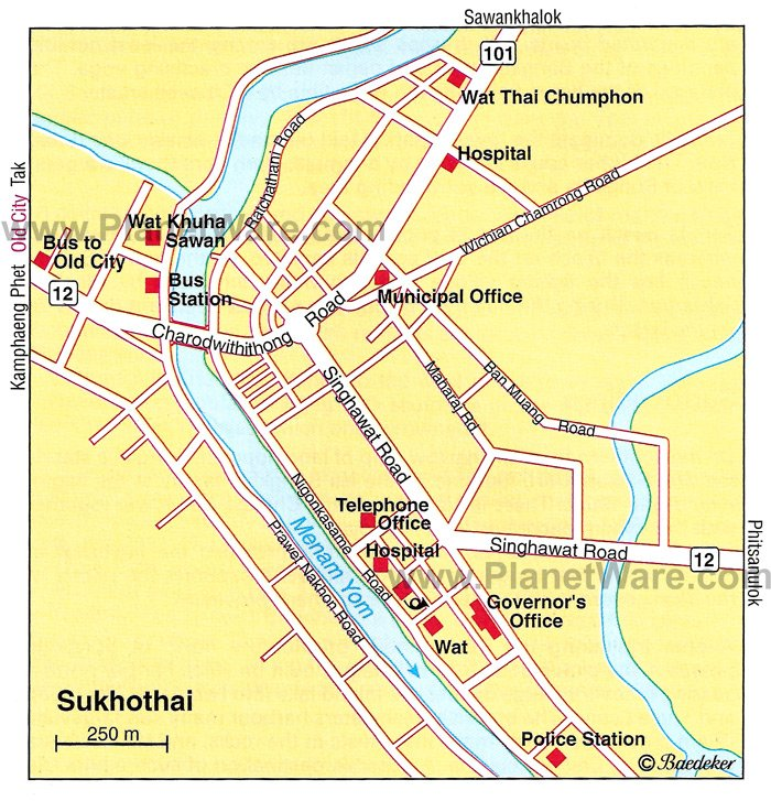 12 TopRated Tourist Attractions in Sukhothai – Thailand Tourist Attractions Map