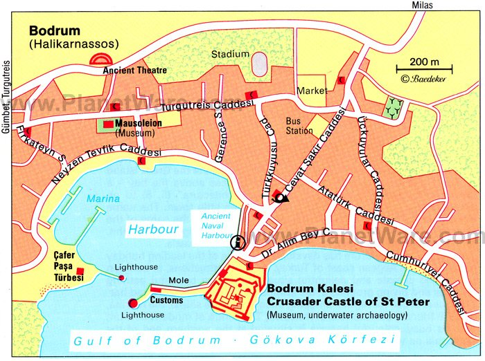 8 TopRated Tourist Attractions in Bodrum – Turkey Tourist Attractions Map