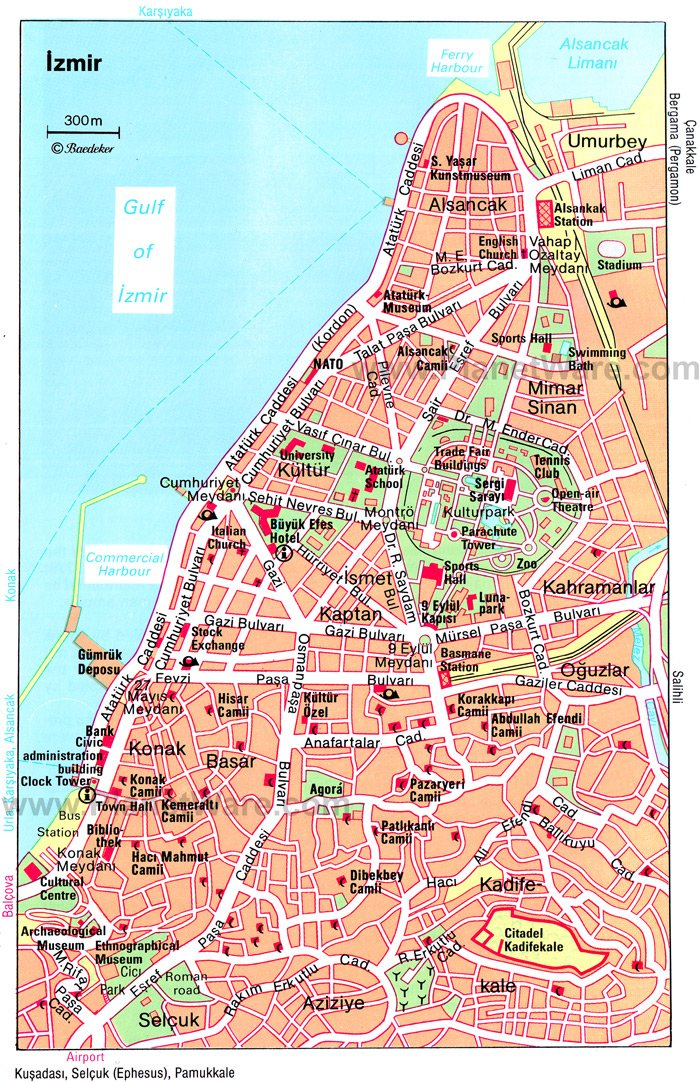 map turkey showing izmir