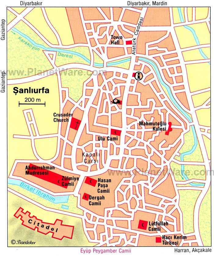 11 TopRated Tourist Attractions in Sanliurfa – Turkey Tourist Attractions Map