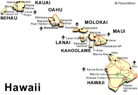 Hawaii Travel Guide PlanetWare