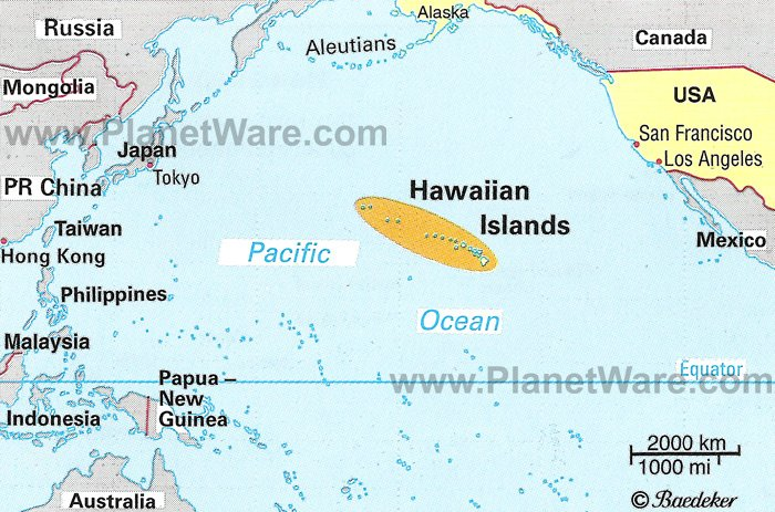 Hawaii Location Map Montana Map - Where is hawaii in the map us