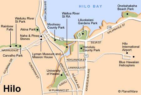 HttpwwwplanetwarecomimapUShilobigislandofhawaiimap - Us and hawaii map