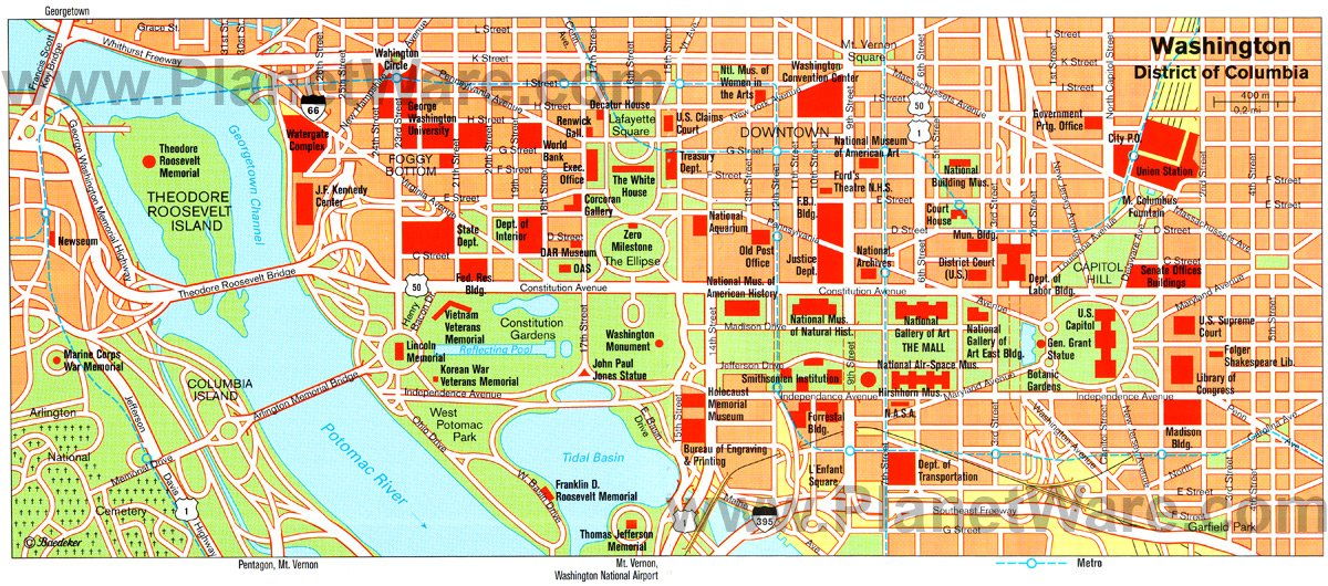 Washington DC Map. Washington DC is the federal capital of the United States