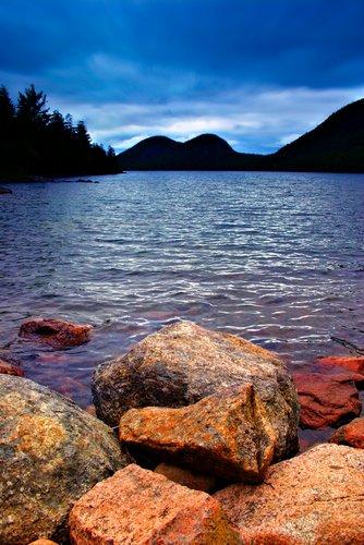 Jordan Pond in Acadia National Park.