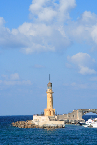 Lighthouse at Alexandria.