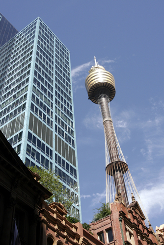 Picture of AMP Tower (Sydney Tower), Sydney - Glass skyscraper and ...