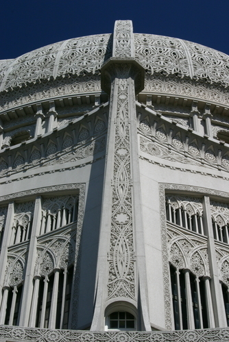 Baha'i Temple in Chicago.