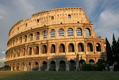 Picture of Colosseum, Rome - The Colosseum (72 AD) is the largest ancient