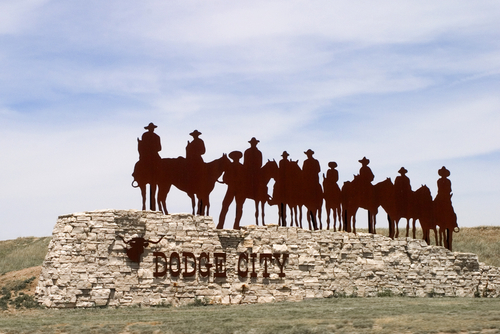 Dodge City sign By jlnovak