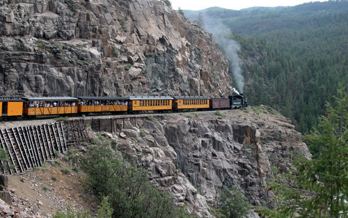 Picture of Durango and Silverton Narrow Gauge Railroad, Durango ...