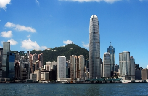 Picture of Hong Kong Island - Skyline of Hong Kong.