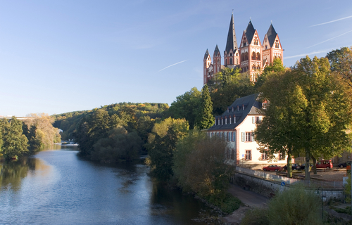 River Lahn at Limburg.
