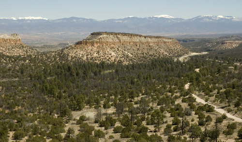 los alamos nm. Rock Formation near Los Alamos