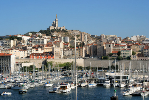 Picture of Marseilles - The Vieux Port of Marseille.