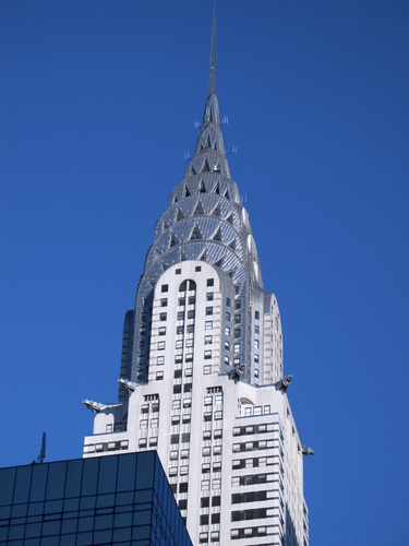 Chrysler Building in New York City.