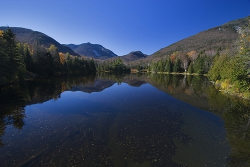 Scenic Adirondack Mountains, New York State.