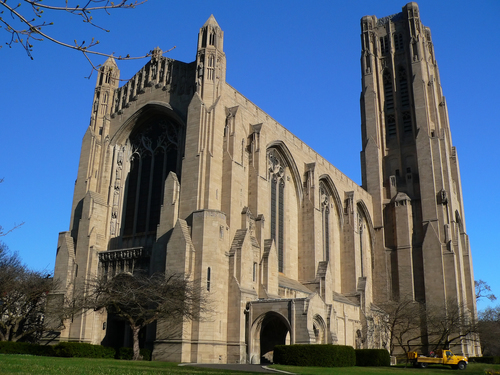 Rockefeller Chapel at University of Chicago.