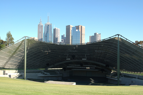 The Sidney Myer Music Bowl in Melbourne.