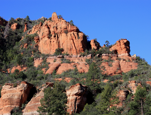 12 top rated tourist attractions in sedona planetware for Cabine vicino a slide rock sedona