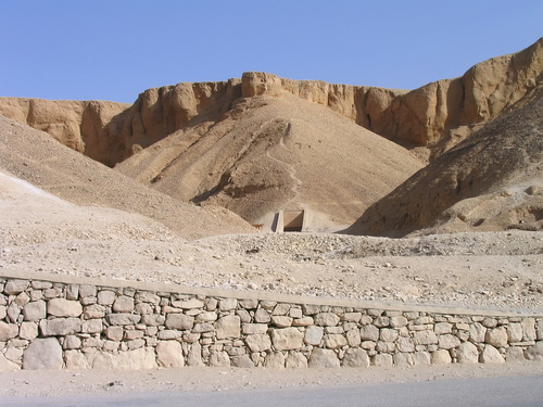 The Valley of the Kings, near Luxor.