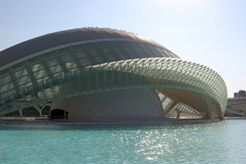 Unique architecture in Valencia.