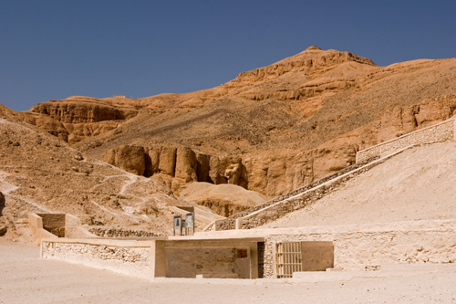 Tutenkhamun's Tomb at the Valley of the Kings near Luxor.