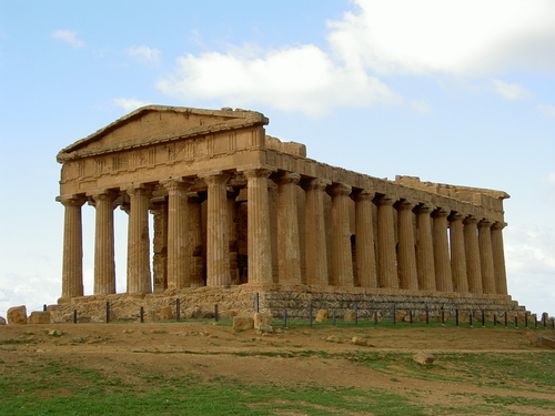 Picture of Valley of the Temples, Agrigento - Greek temple in ...