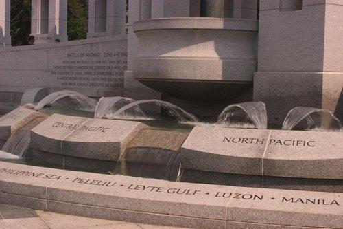 World War Ii Memorial Washington D.c. Dc. The World War II monument in