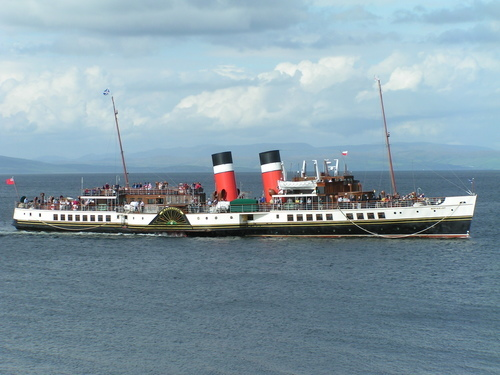 Picture of Waverley Paddle Steamer, Glasgow - The Waverley Paddle ...