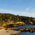 Picture - Panoramic view of Cypress Point at 17 Mile Drive, Monterey.